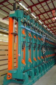 Press for lamellar beams TL32