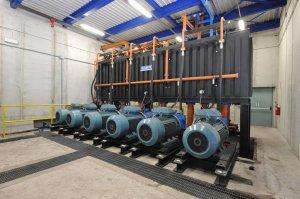 impianto idraulico 3 pressa