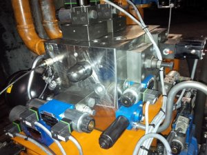 revamping 11 impianto idraulico pressa