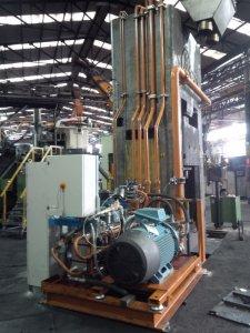 revamping 12 impianto idraulico pressa