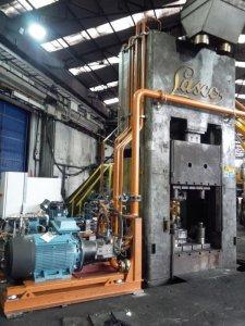 revamping 13 impianto idraulico pressa