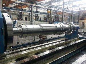 tornitura 2 Generator shaft